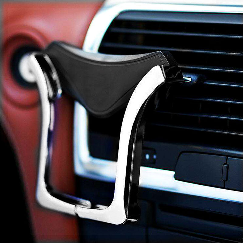 HTB16vfEcvuSBuNkHFqDq6xfhVXaR - Mobile phone holder telefon tutucu gadget for car gadgets and accessories dashboard anti non slip 360-degree rotating outlet