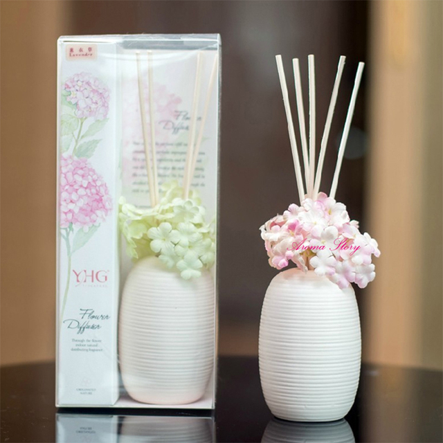 100ml Essential Oil Reed Diffuser With Natural Rattan