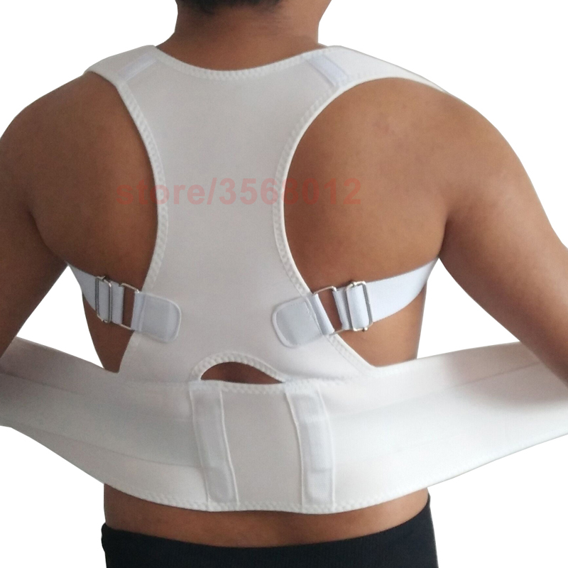 2018 Belly Sweat Belt Posture Brace Shoulder Lumbar Support Belt Lower Back Brace Posture Corrector Men Women Pain Relief Corset