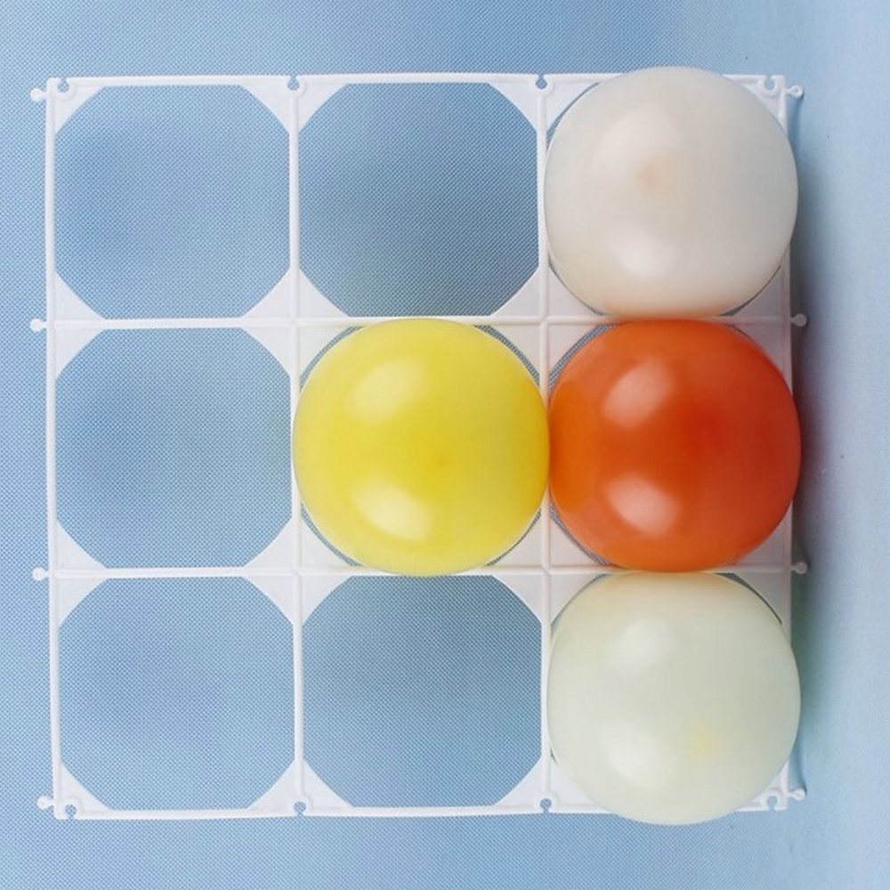 Balloon Square 9 Grid Modeling Party Balloons Grids Wall Wedding ...