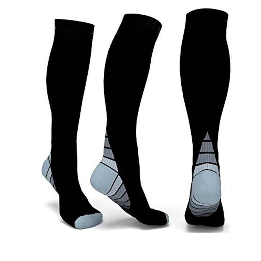 Men's Socks Straightforward Compression Socks Unisex Anti-fatigue Compression Socks Foot Pain Relief Soft Magic Socks Men Women Leg Support Dropshipping Hot
