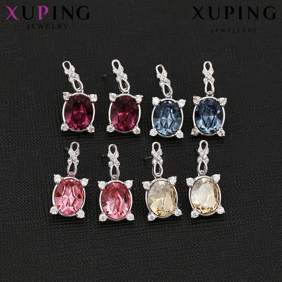 11 11 Deals Xuping Drop Earrings Lovely Crystals From Swarovski Office Style Jewelry For Women Thanksgiving Christmas Gift 93944 Jewellery Shop Online