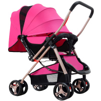 High Quality Foldable Travel Baby Stroller Lightweight Carriage Buggy Pushchair Pram Newborn Baby Trolley With Summer And Winter