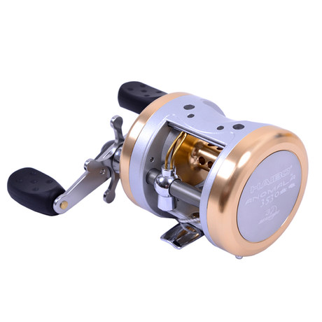 все цены на free shipping HAIBO Anomala 3530# bait casting reel water drop reel 3 bearings fishing reel онлайн