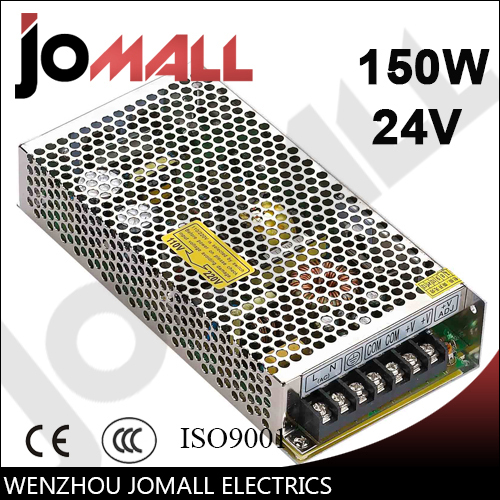 150w 24v 6.5a Single Output switching power supply switching power supply 150w 24v