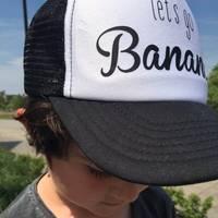 Casquillo del camionero de encargo embroma el envío Imprimir insignia del texto niños niñas regalos personalizados niños Curved visera sombrero ajustable envío gratis