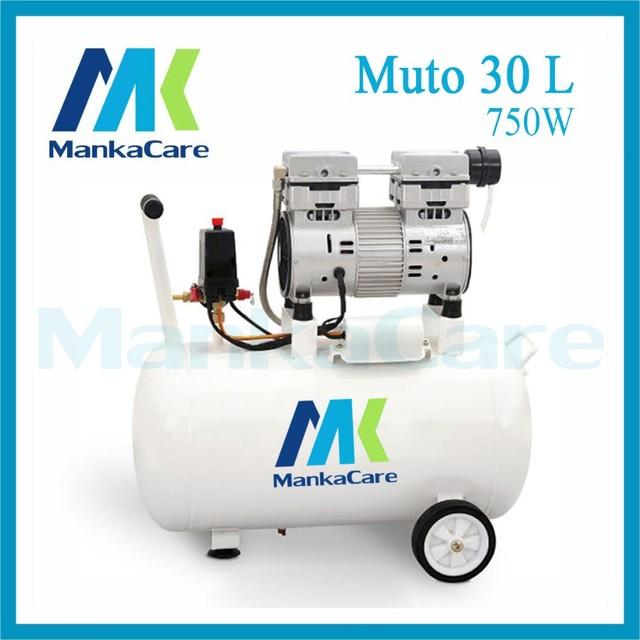 Manka Cuidar-30L 750 W Compressor de Ar Dental/Impressão no Tanque/Rust-Proof Câmara/Silent/Menos óleo/Oil Free,/Máquina de Compressão