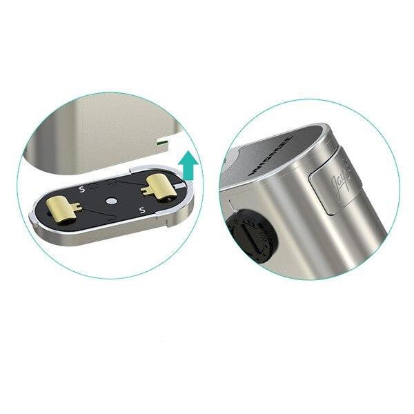 100% original Wismec Noisy Cricket II-25 TC box mod with wismec neutron RDA atomizer electronic cigarette full kit huge vape