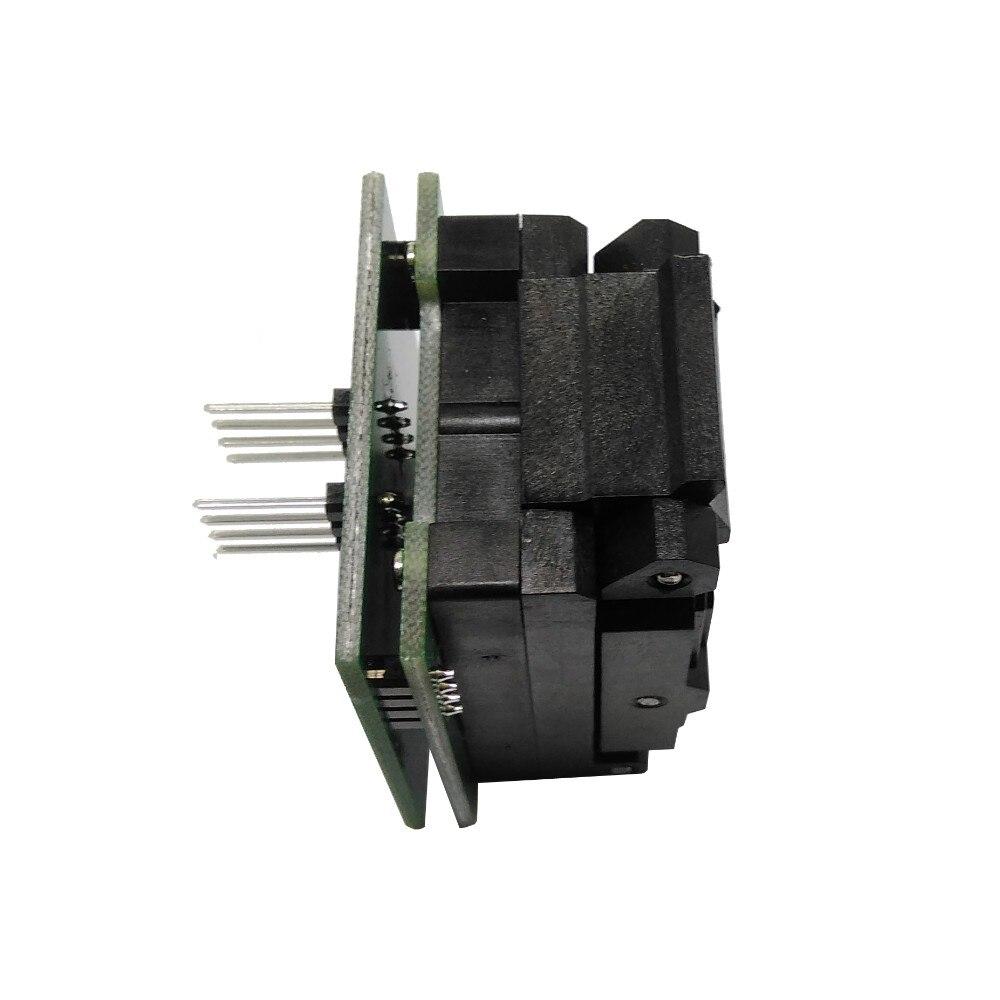BGA24 à DIP8 IC adaptateur prise pour 8x6mm largeur du corps BGA puces SMT/SMD prise de Test - 2