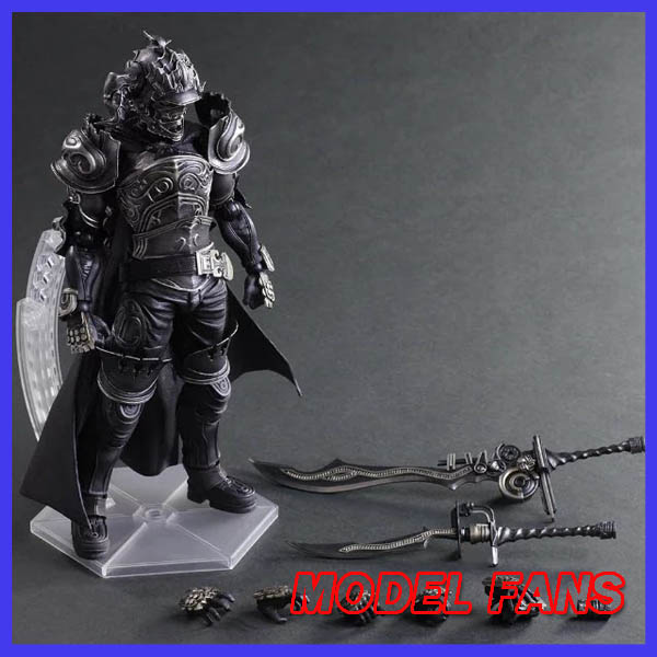 MODEL FANS Play Arts Final Fantasy 12 Figure Final Fantasy XII Gabranth Figure PA 27cm PVC Action Figure Doll Toys Kids Gift new hot 22cm final fantasy gabranth collectors action figure toys christmas gift doll