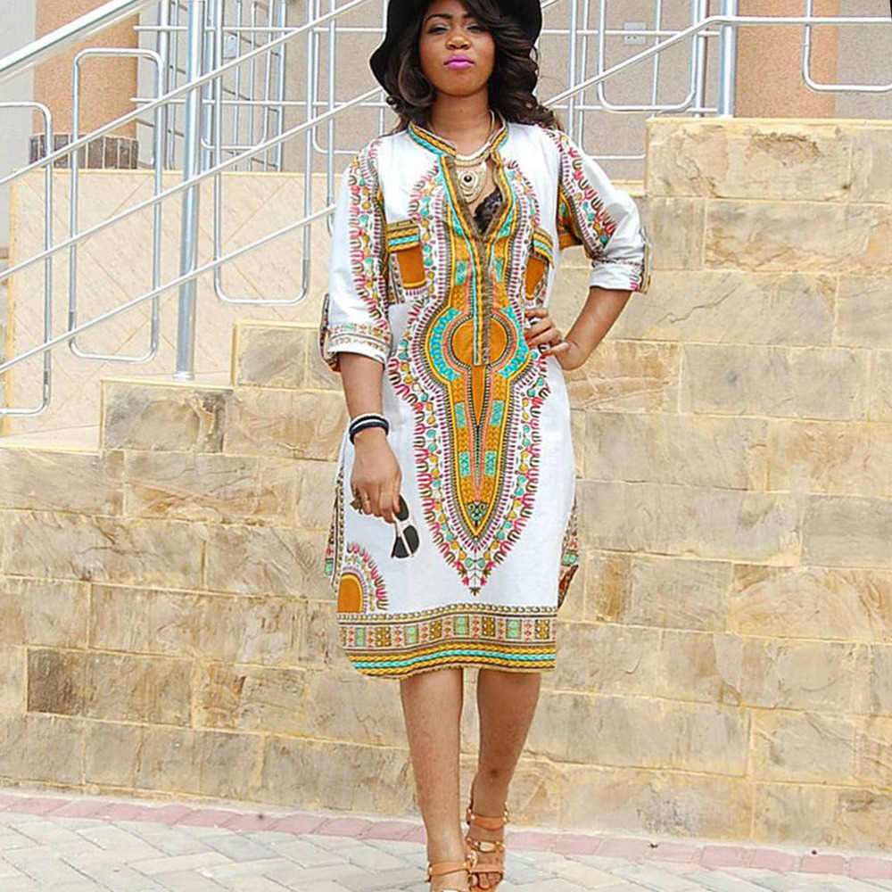 Buy Hot Sale For Women Dashiki Africa Clothing Traditional Dresses Ethnic