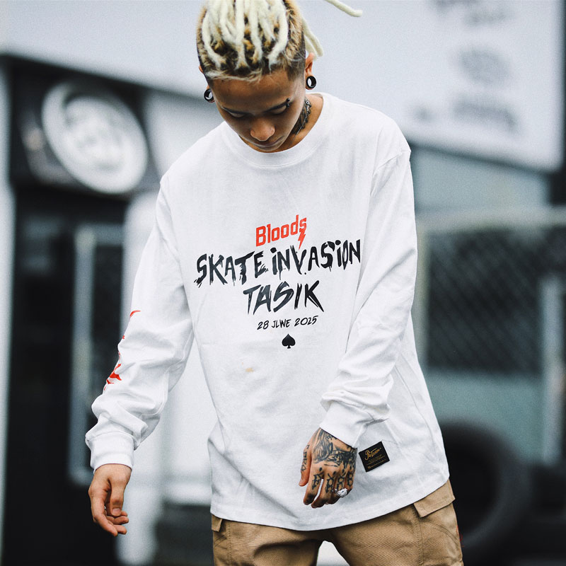 Skateboard Streetwear T-Shirts 1