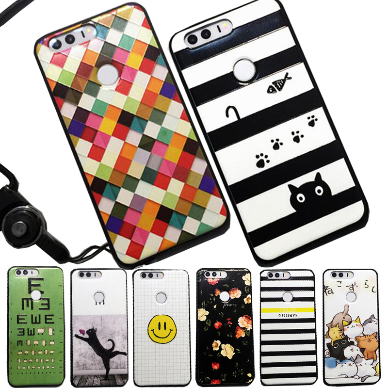 C-ku 3d Bling Tempered Glass Tpu Hard Case For Huawei Ascend P10 Plus Cartoon Superman Dog Girl Moon Cover Skin Luxury 50pcs High Quality Materials Phone Bags & Cases