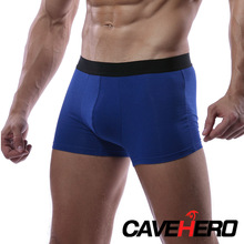 Micro Modal Cuecas Men Boxer Euiropean Mens Underwear Breathable Underpants Bamboo Mid-Waist Braid