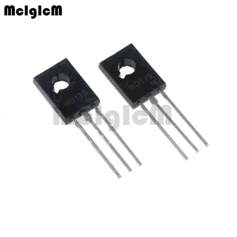 MCIGICM 50pcs NPN Power Transistors BD139 TO-126