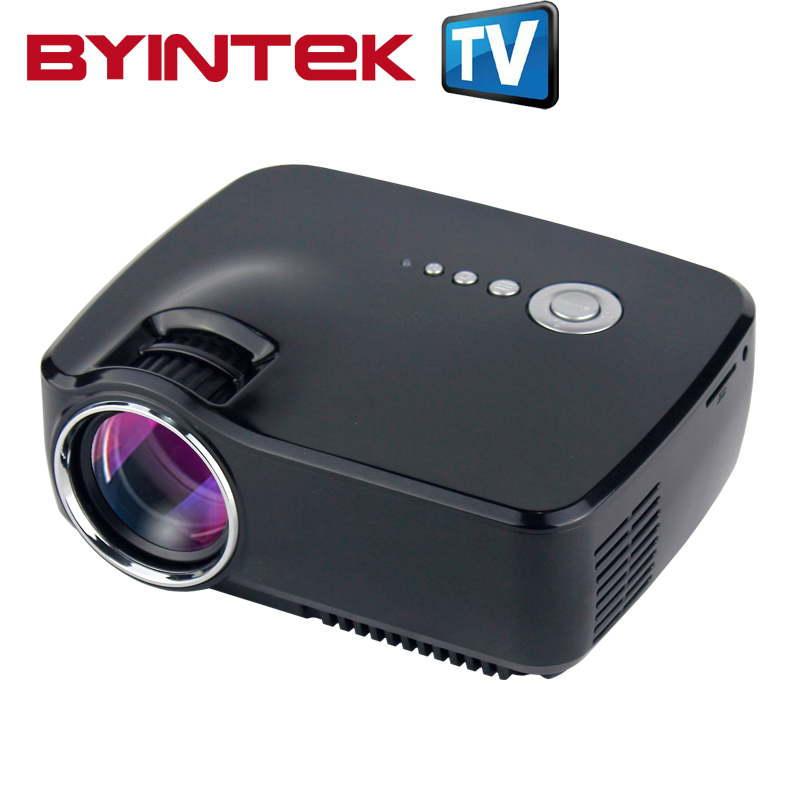 2016 byintek new home theater hd 1080p lcd led hdmi usb for Portable video projector