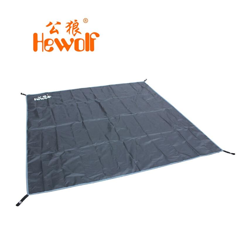 Outdoor camping equipment tarp foldable beach mat waterproof picnic blanket beach rug camping mat HeWolf 195*190CM