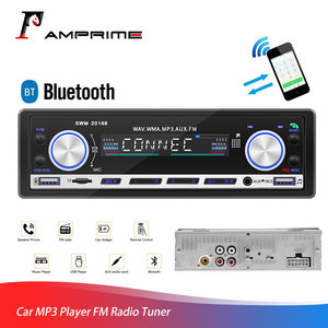 AMPrime Car MP3 Player FM Radio Tuner 3'' 1 din Autoradio AUX Input USB Charging Function Wireless Remote Control Radio Stereo|Car Radios|Automobiles & Motorcycles -