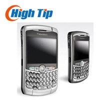 Оригинальный разблокирована blackberry 8310 curve qwerty телефоны 2-мегапиксельная восстановленное quad band смартфон бесплатная доставка 1 год гарантии