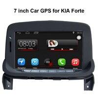 Повышен оригинальный автомобиля мультимедийный плеер автомобиля gps навигации костюм для KIA Forte Поддержка Wi Fi смартфон Зеркало link Bluetooth