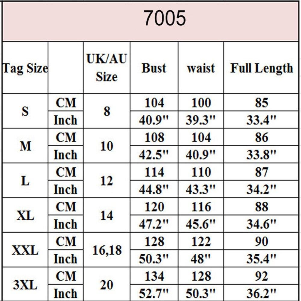 7001 size chart 201891