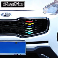 UNOCAR Cover Case Stickers For Kia Sportage QL 2016 17 KX5 2 PCS Car Styling ABS