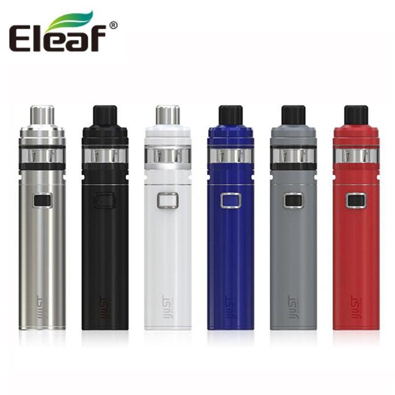 100% Originale Eleaf iJust NexGen All-In-One Starter Kit 3000 mAh Batteria 50 W Con 2 ML serbatoio 4 Led di Colore