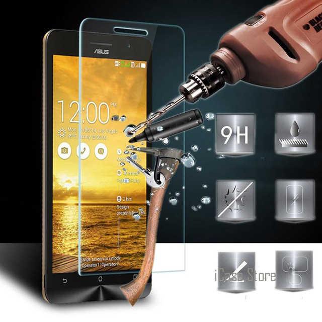 9 h الزجاج المقسى لشركة آسوس zenfone c 6 الذهاب 2 الليزر ZE500CL ZE551ML ZC451CG A450CG A400CG A501CG selfie ZC500TG ZE601KL التكبير