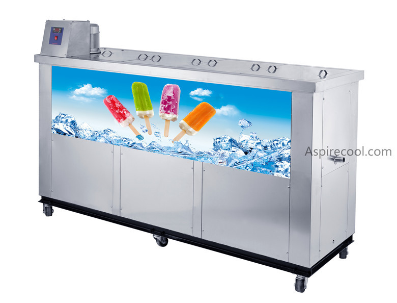 Ice Candy Machine Popsicle Making Machine 30000~32000 pcs/day Stainless Steel