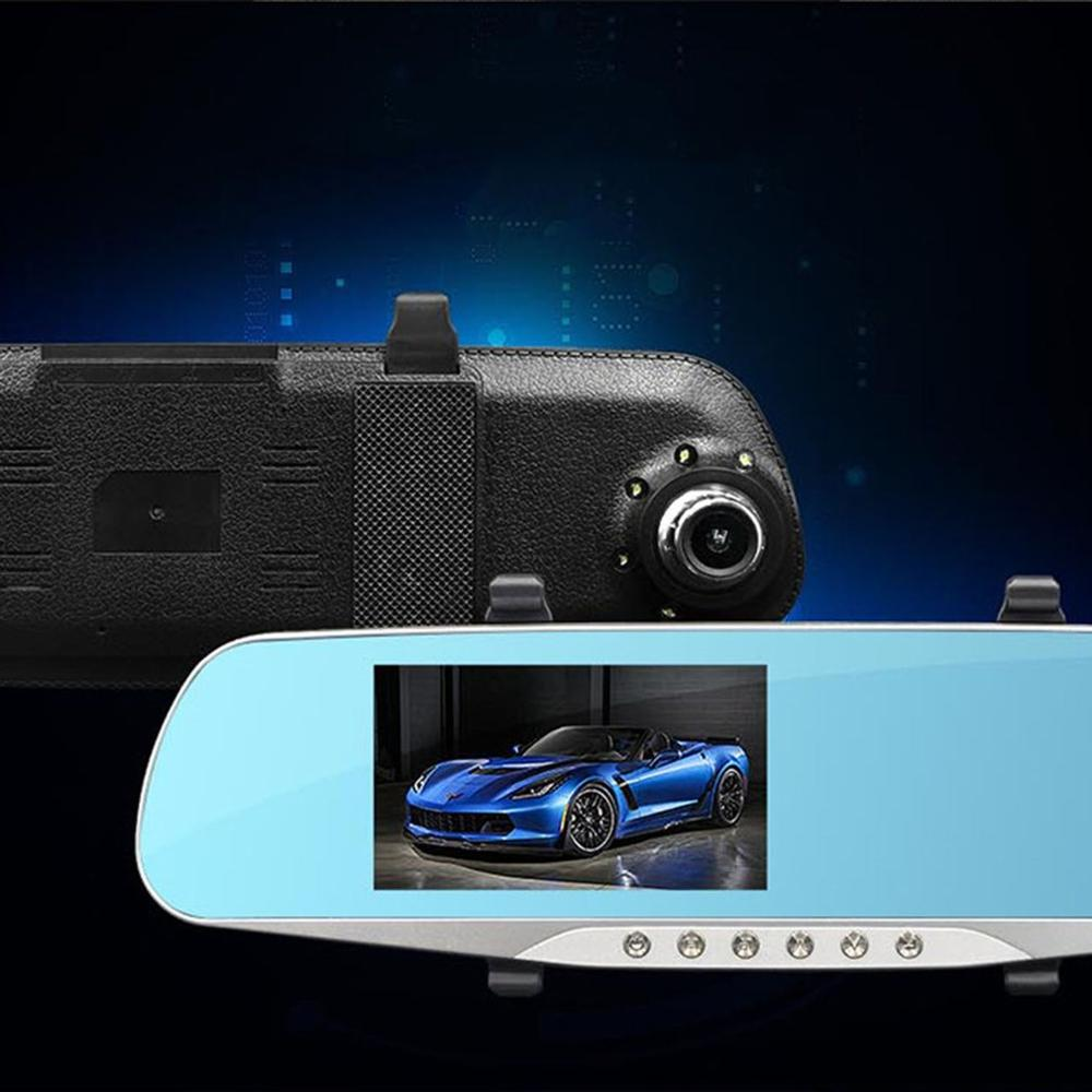 Car DVR Angle-Camera Parking-Recorder Video Night-Vision Dual-Ways G-Sensor 1 V300 140-Degree