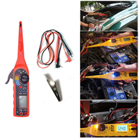 Line Electricity Detector And Lighting 3 In 1 Auto Repair Tool Red