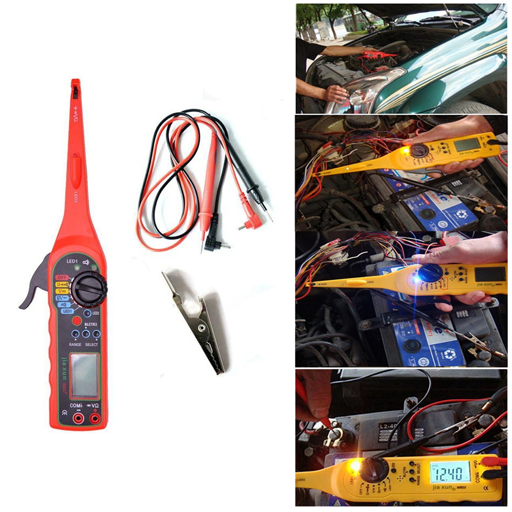 Multi-function Auto Circuit Tester Multimeter Lamp 3 in 1 Ca