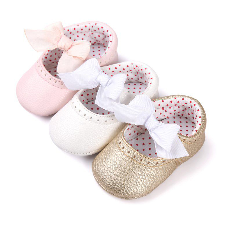 Baby Girl Shoes Newborn Baby Moccasin Babies Shoes Soft Bottom PU Leather Toddler Infant First Walkers Boots
