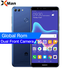 "HuaWei Enjoy 8 Plus Y9 2018 4G LTE Cell Phone 4GB RAM 128GB ROM Android 8.0 5.93"" IPS 2160X1440 Face ID 4000mAh(China)"