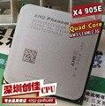 Доставка бесплатно AMD Phenom II X4 905E ПРОЦЕССОРЫ 2.5 ГГц/6 МБ Кэш-Памяти L3 AM3 PGA938, обои для рабочего Quad core CPU разрозненные части процессора