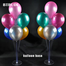 BTRUDI  balloon column base 1sets/box 50cm High Wedding Decoration Centerpiece Balloon Stand