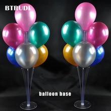 BTRUDI  balloon column base 1sets/box 50cm High Wedding Decoration Centerpiece Balloon Stand