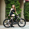 AOXIN 26 Inch Mountain Bike 21 24 27 Speed High Carbon Steel Mountain Bicycles Sport Men