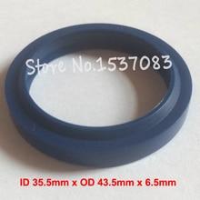 Hydraulic ram oil seal wiper seal polyurethane o-ring o ring 35.5mm x 43.5mm x 5mm x 6.5mm цена 2017