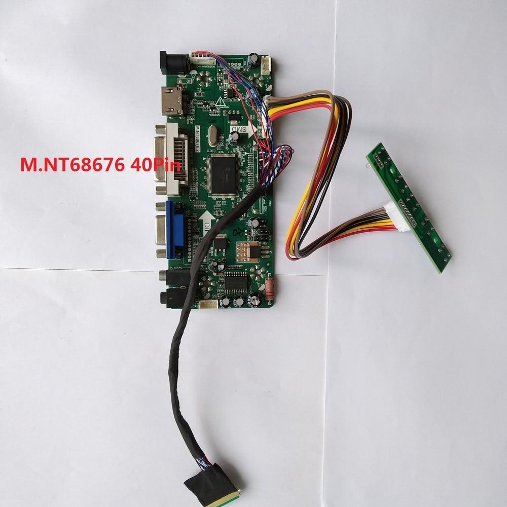 """NT68676 HDMI+DVI+VGA LCD Controller Kit for 10.1/"""" N101L6-L0D LED Panel 1024x600"""