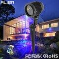 ALIEN Great RGB 8 Patterns Laser Light Garden Xmas Outdoor Laser Projector IP65 Waterproof Christmas Tree Landscape Lighting