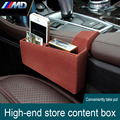 Leather material central store content Plush store content cover Car Accessories FOR BMW F30 F34 F31 F35 F10 5 Series 3 Series