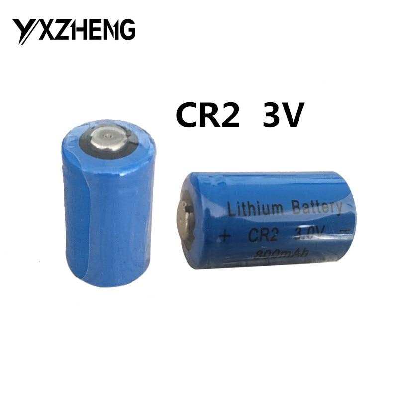 100pcs 3.0V cheap Lithium CR2 <font><b>Li</b></font> MnO2 <font><b>battery</b></font> 800mAh bulk packing <font><b>battery</b></font> for camero flahslights