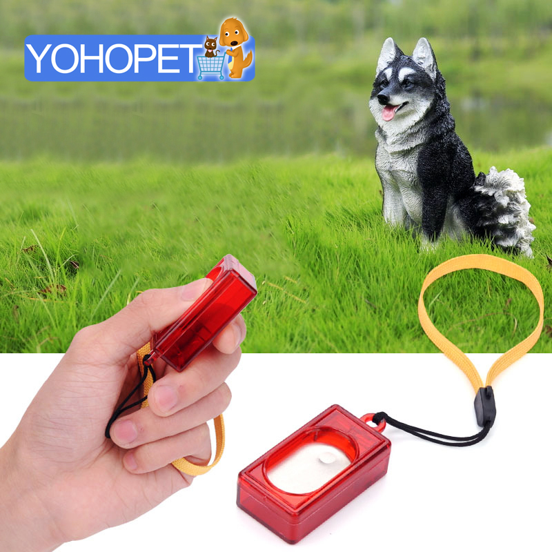 US $3 99  Dog Whistle Collier Anti Aboiement Dog Training Clicker pet anti  Stop barking training dogs Clicker Training Interactive toys-in Dog