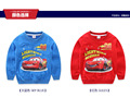 2016 boy girl t shirt spring autumn children t shirts clothing cartoon car cotton  kids clothes tees tops 4-11Y