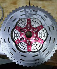 IG50-7 MTB Mountain Bike Bicycle 7S Cassette Freewheel 7 Speeds Flywheel 11-28T Teeth Crankset Parts