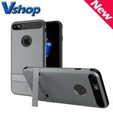 Оригинальный Бренд Baseus Чехол для iPhone 7 и 7 Plus iBracket PC + ТПУ Комбинация Защитный Мобильного Телефона Чехол с Держателем