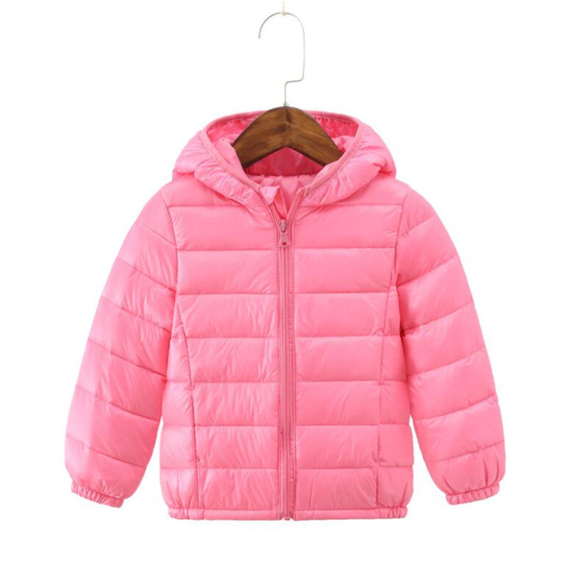 LILIGIRL Down-Jacket Winter Outwear Hooded Boys Children's New for Warm Coat Thin-Tops
