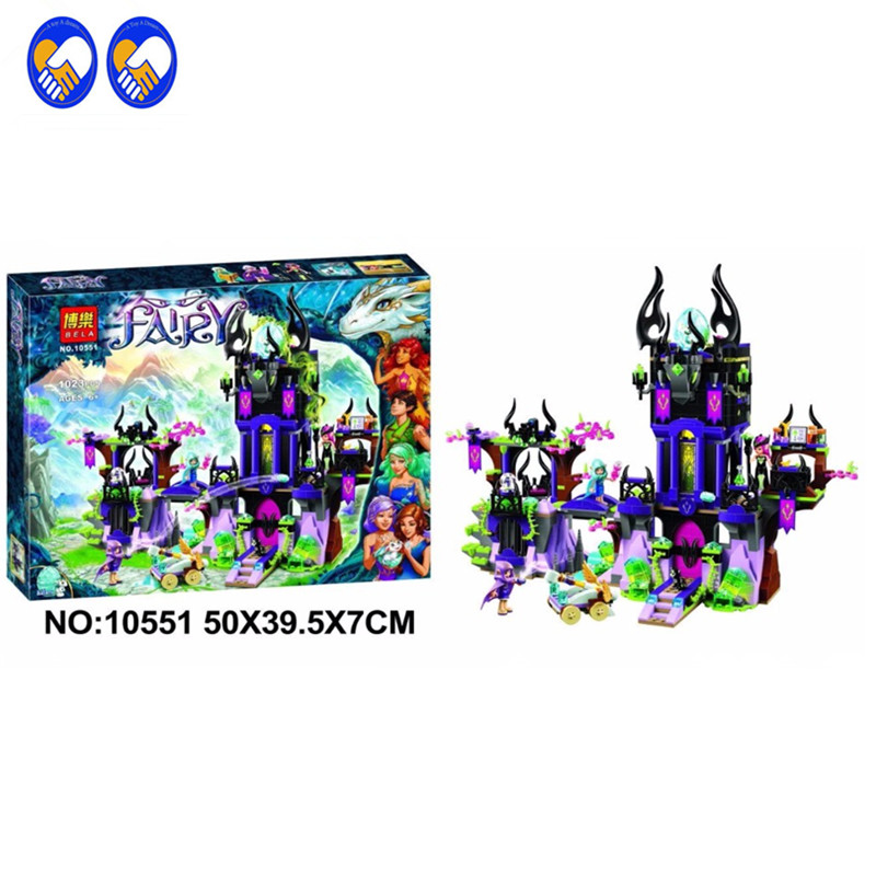 A Toy A Dream Bela Elves 10551 The Ragana's Maigc Shadow Castle Building Bricks Blocks Educational Toys Compatible 10551 elves ragana s magic shadow castle building blocks bricks toys for children toys compatible with lego gift kid set girls