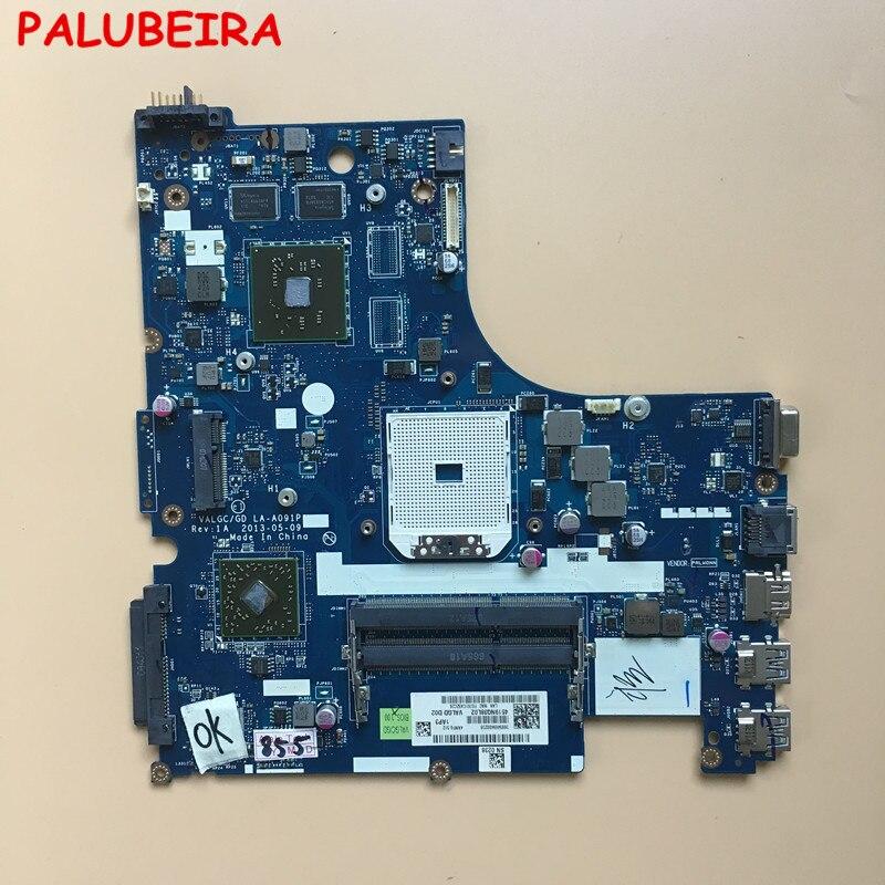 PALUBEIRA LA A091P laptopa płyty głównej płyta główna w nadaje się do Lenovo G505S płyty głównej płyta główna DDR3 testowane działa idealnePłyty główne do laptopów   -